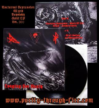 "Nocturnal Depression / Myrd / Vspolokh Split 12"" LP lim. 300"