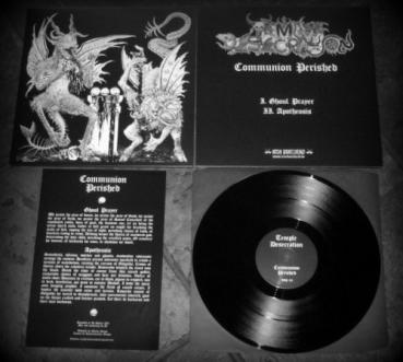 Temple Desecration (Pol.) - Perished Communion MLP