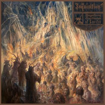 Inquisition - Magnificent Glorification of Lucifer DLP Gatefold brown wax