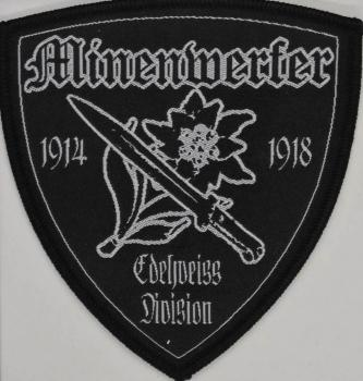 Minenwerfer - Edelweiss Shield Patch