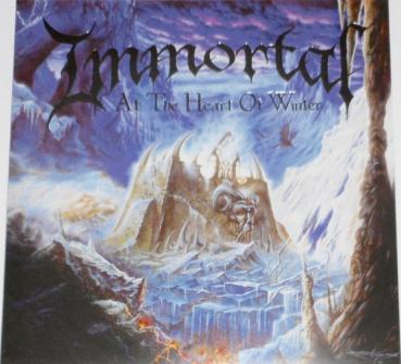 Immortal - At the Heart of Winter Gatefold LP black wax
