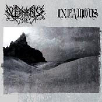 Nekrokrist SS / Infamous - Split CD Digifile