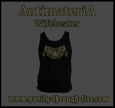 AntimateriA - Wifebeater Shirt