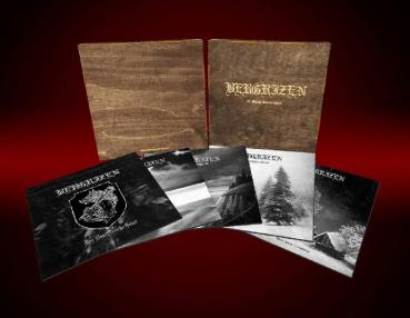 Bergrizen - 10 Years Anniversary Wooden 5LP Box