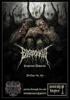 Blodskut - Forgotten Remains Tape lim. 102 copies