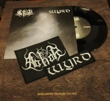 Abhor / Wyrd - Gloomy Fog Evocations Split EP lim. 100 inkl. 2 Patches