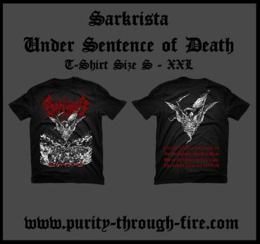 Sarkrista - Under Sentence of Death T-Shirt