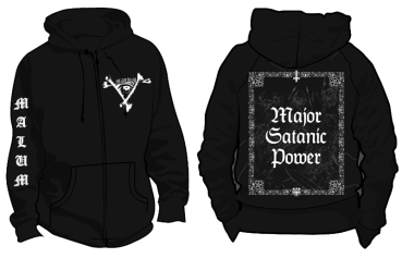 Malum - Major Satanic Power - Zipper Pre-Order