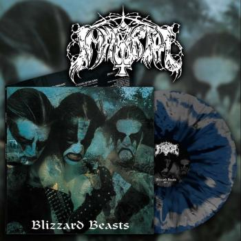 Immortal - Blizzard Beasts LP Silver & Blue Splatter Vinyl lim. 500