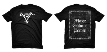Malum - Major Satanic Power T-Shirt Pre-Order