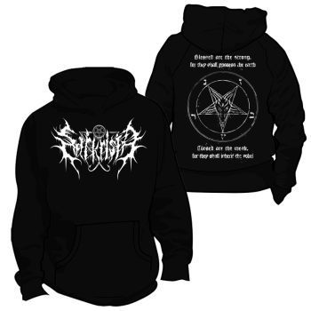 Sarkrista - Blessed are the strong Hooded Sweater