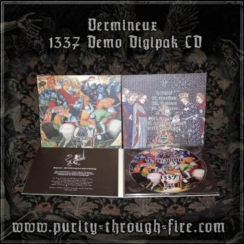 Vermineux - 1337 Demo Digipak CD