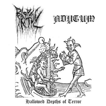 "Adytum / Blood Ritual - Hallowed Depths of Terror 7"" lim. 150"