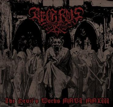 Aegrus - The Devil's Works MMVI​-​MMXIII 2CD lim. 200