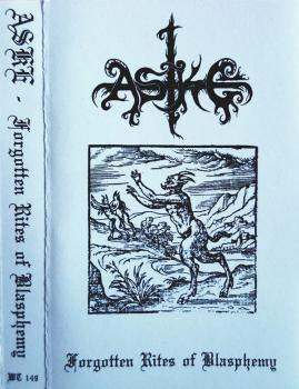 Aske - Forgotten Rites Of Blasphemy Tape lim. 100