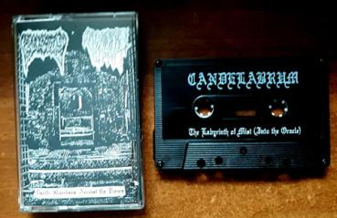 Candelabrum / Sulphuric Night - Death Slumbers Amidst The Ruins Pro Tape