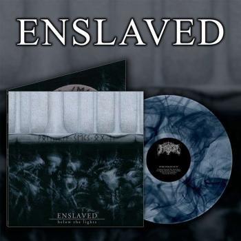 Enslaved - Below The Lights  LP blue marbled vinyl