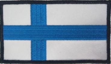 Finnish Flag Patch