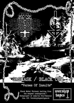 Gasmask / Black Cum - Verses Of Insults Tape