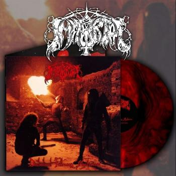 Immortal - Diabolical Fullmoon Mysticism LP Red Galaxy Vinyl