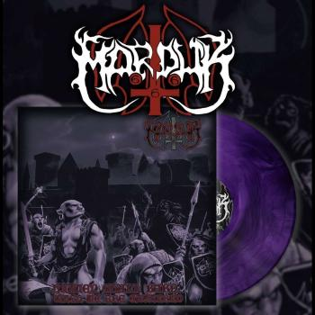 Marduk - Heaven Shall Burn When We Are Gathered LP neon purple/black Vinyl