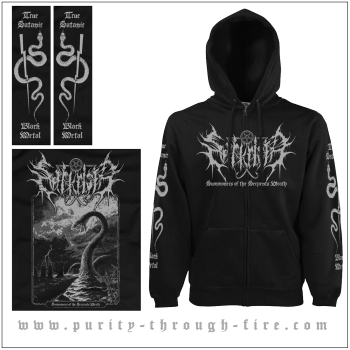 Sarkrista - Summoners of the serpents wrath Hooded Zipper