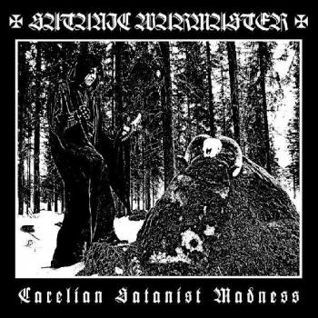Satanic Warmaster - Carelian Satanist Madness LP Black Wax