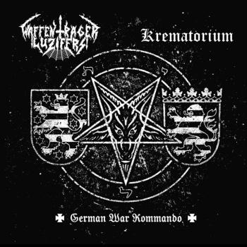 "Waffenträger Luzifers / Krematorium - German War Commando Split 10"" Vinyl"