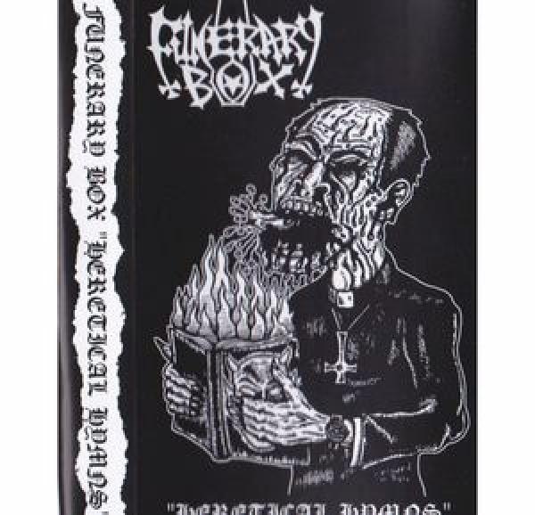 FUNERARY BOX (USA) - Heretical Hymns cassette TAPE lim. 100