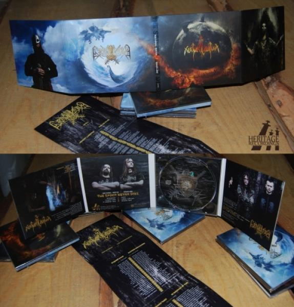 Graveland / Nokturnal Mortum - The Spirit Never Dies Digipak CD