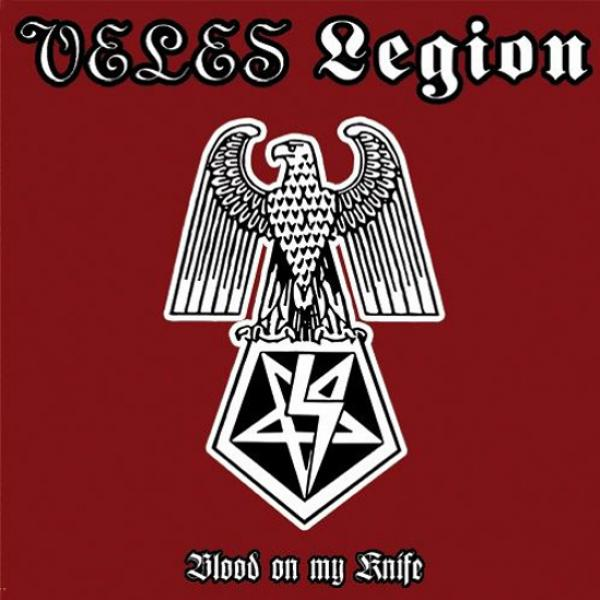 Veles / Legion - Blood on my Knife Split CD