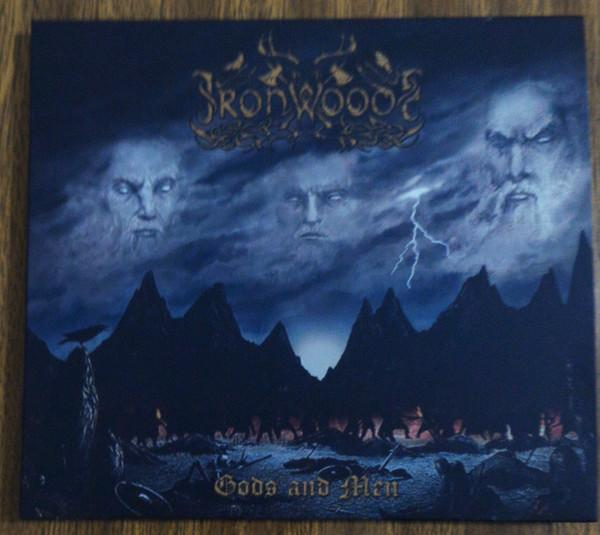 Iron Woods ‎– Gods And Men Digipak CD