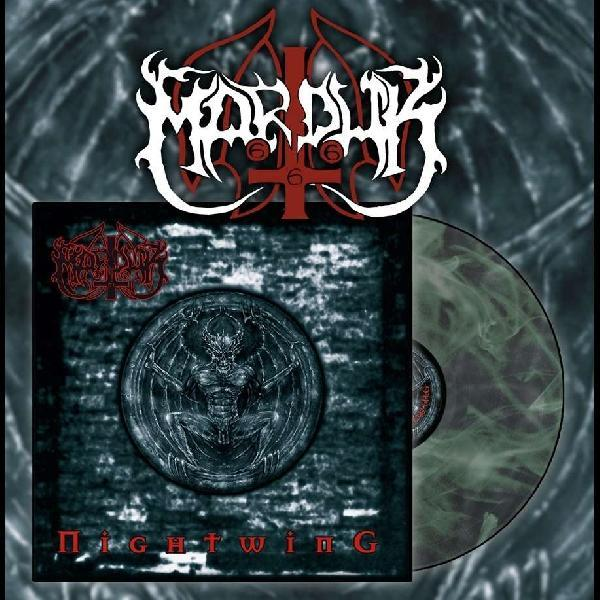 Marduk - Nightwing LP Green Galaxy Vinyl