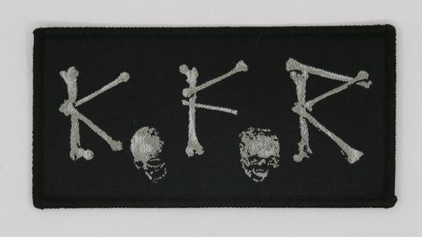 K.F.R - Bones Logo Patch
