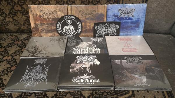Kroda CD Package 9 Digipaks + 2 Patches Special Price