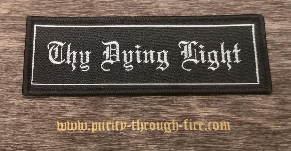 Thy Dying Light - Logo Font Patch