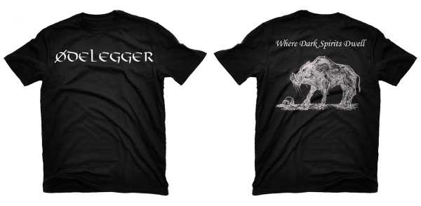 Ødelegger - Where Dark Spirits Dwell T-Shirt
