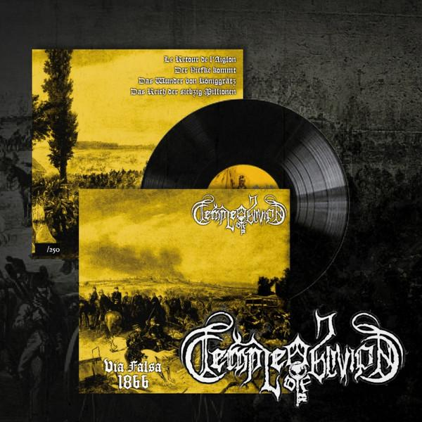 Temple of Oblivion - Via Falsa 1866 LP black wax