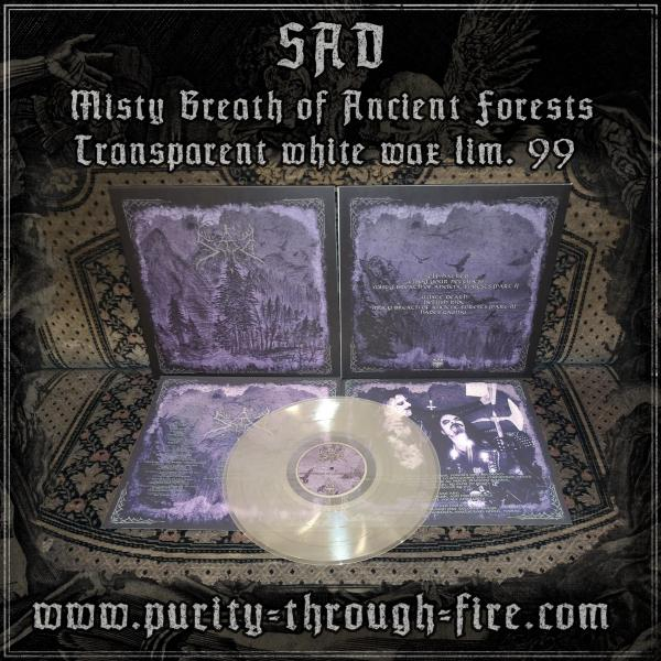 "Sad - Misty Breath of Ancient Forests 12"" clear wax lim. 99"