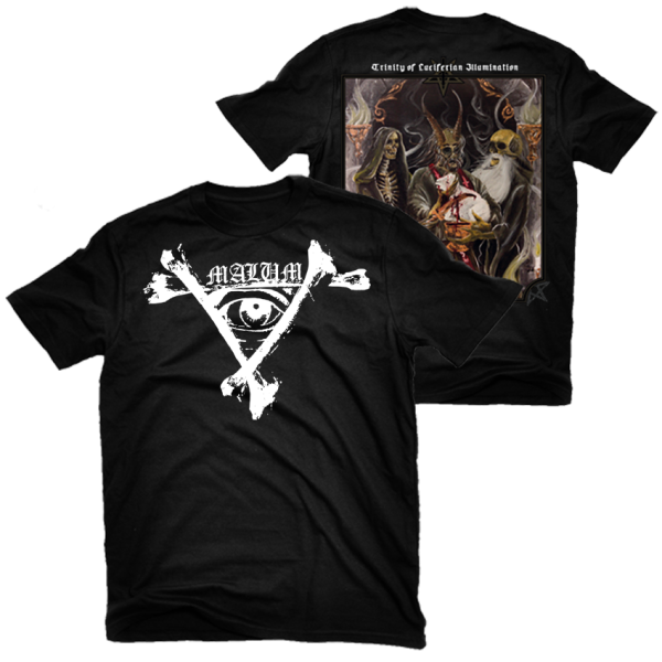 Malum - Trinity of Luciferian Illumination Shirt