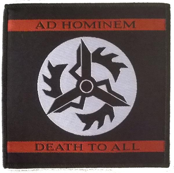 Ad Hominem -  Death To All Patch