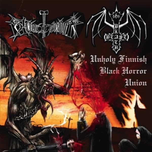 Black Beast / Bloodhammer - Unholy Finnish Black Horror Union CD