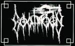 Goatmoon - Woven Logo Patch Silver